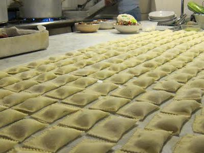Home made tortelli